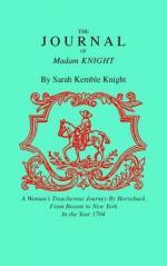 Sarah Kemble Knight by
