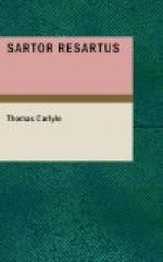 Sartor Resartus: the life and opinions of Herr Teufelsdrocke by Thomas Carlyle