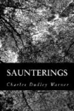 Saunterings by Charles Dudley Warner