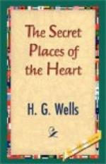 Secret Places of the Heart by H. G. Wells