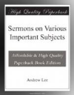 Sermons on Various Important Subjects by