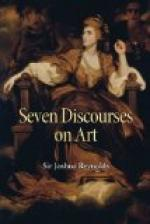 Seven Discourses on Art by Joshua Reynolds