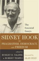 Sidney Hook by