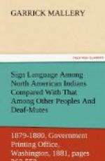 Sign Language Among North American Indians Compared With That Among Other Peoples And Deaf-Mutes by