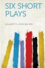 Six Short Plays by John Galsworthy