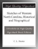 Sketches of Western North Carolina, Historical and Biographical by