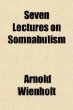 Somnabulism by
