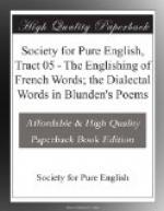Society for Pure English, Tract 05 by