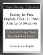 Society for Pure English, Tract 11 by