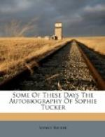 Some of These Days by Sophie Tucker