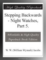 Stepping Backwards by W. W. Jacobs