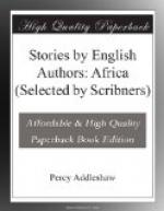 Stories by English Authors: Africa (Selected by Scribners) by