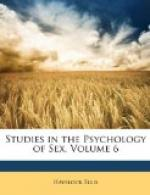 Studies in the Psychology of Sex, Volume 6 by Havelock Ellis