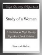 Study of a Woman by Honoré de Balzac