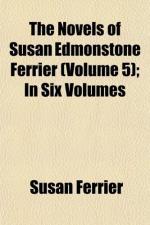 Susan Edmonstoune Ferrier by