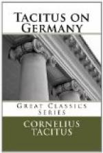 Tacitus on Germany by Tacitus
