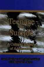 Teenage suicide by