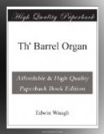 Th' Barrel Organ by Edwin Waugh
