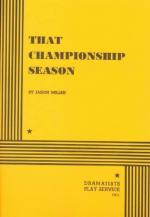 That Championship Season by Jason Miller
