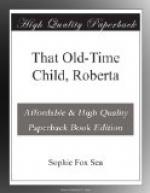 That Old-Time Child, Roberta by