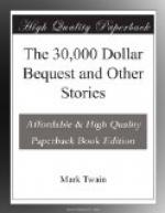 The 30,000 Dollar Bequest and Other Stories by Mark Twain