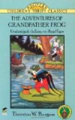 The Adventures of Grandfather Frog by Thornton Burgess