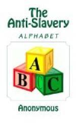 The Anti-Slavery Alphabet by