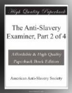 The Anti-Slavery Examiner, Part 2 of 4 by American Anti-Slavery Society