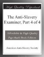 The Anti-Slavery Examiner, Part 4 of 4 by American Anti-Slavery Society