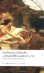 The Argonautica by Apollonius of Rhodes