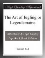 The Art of Iugling or Legerdemaine by