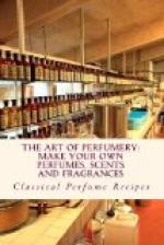 The Art of Perfumery by