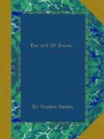 The Art of Travel by Francis Galton