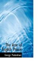 The Arte of English Poesie by George Puttenham