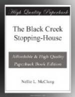 The Black Creek Stopping-House by Nellie McClung