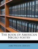The Book of American Negro Poetry by