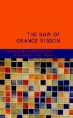 The Bow of Orange Ribbon by Amelia Edith Huddleston Barr