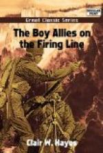 The Boy Allies on the Firing Line by