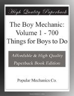 The Boy Mechanic: Volume 1 by Popular Mechanics
