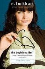 The Boyfriend List: (15 Guys, 11 Shrink Appointments, 4 Ceramic Frogs,... by E. Lockhart