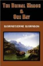 The Bridal March; One Day by Bjørnstjerne Bjørnson