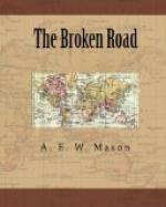 The Broken Road by A. E. W. Mason