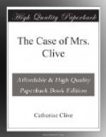 The Case of Mrs. Clive by Catherine Clive