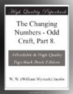 The Changing Numbers by W. W. Jacobs