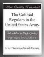 The Colored Regulars in the United States Army by