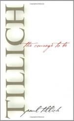The Courage to Be (Tillich) by Tillich, Paul