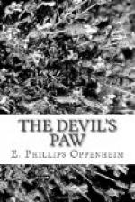 The Devil's Paw by E. Phillips Oppenheim