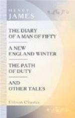 The Diary of a Man of Fifty by Henry James
