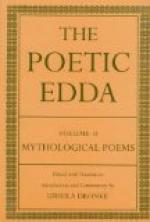 The Edda, Volume 2 by