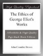 The Ethics of George Eliot's Works by